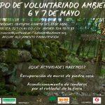 Campo de Voluntariado Ambiental.